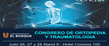 Congreso de Ortopedia y Traumatología este 26,27 y 28 de Julio
